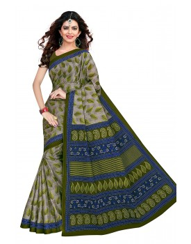 Tamaira Fashion Women's Pure Cotton Saree Without Blouse Piece
