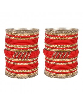 Matt Finish Lac Metal Colorful Bangles Karva Chauth & Wedding Use For Women & Girls