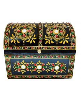 Wooden Style Handmade Handicraft Wooden Jewellery Box