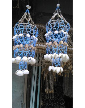 Handmade Sea Shell Wall Hanging Decoration-Handicraft