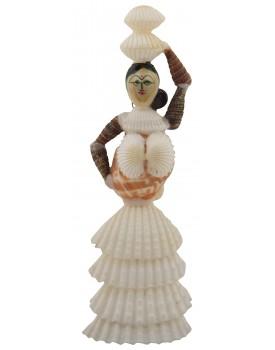 RADHAGOBINDA HANDICRAFT Sea Shell Handcrafted Doll Figurine