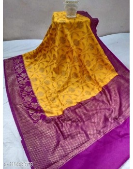 Dupion silk sarees