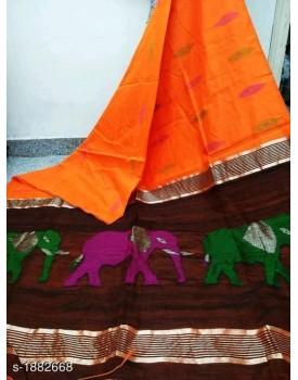 Elite alluring cotton silk sarees
