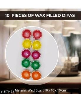 Trendy festive wax diyas
