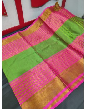 Uppada Cotton tissue sarees