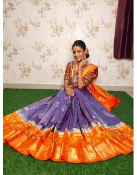 Ikkat kanchipuram silk sarees