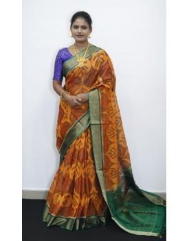 Pochampally siko silk Sarees