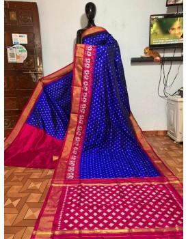 Ikkat Pochampally Silk Sarees