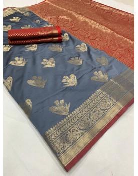 Lichi silk sarees Murti Nx-20