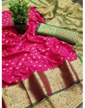 Lichi silk sarees Murti Nx-31