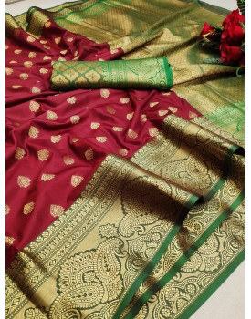 Lichi silk sarees Murti Nx-30