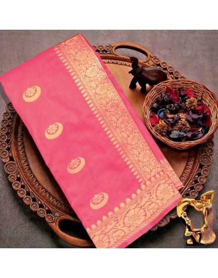 Banarasi silk rich zari weaving two-tone saree with full saree  zari  work