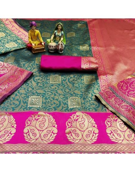 Banarasi Silk with Jacquard